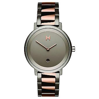 MVMT Signature II Women's Watch Wristwatch Stainless Steel D-MF02-TIRG