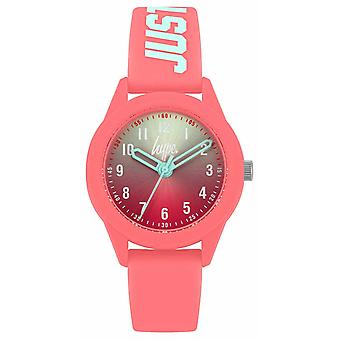 Hype | Coral Silicone Strap | Two-Tone Dial | HYK003C Watch
