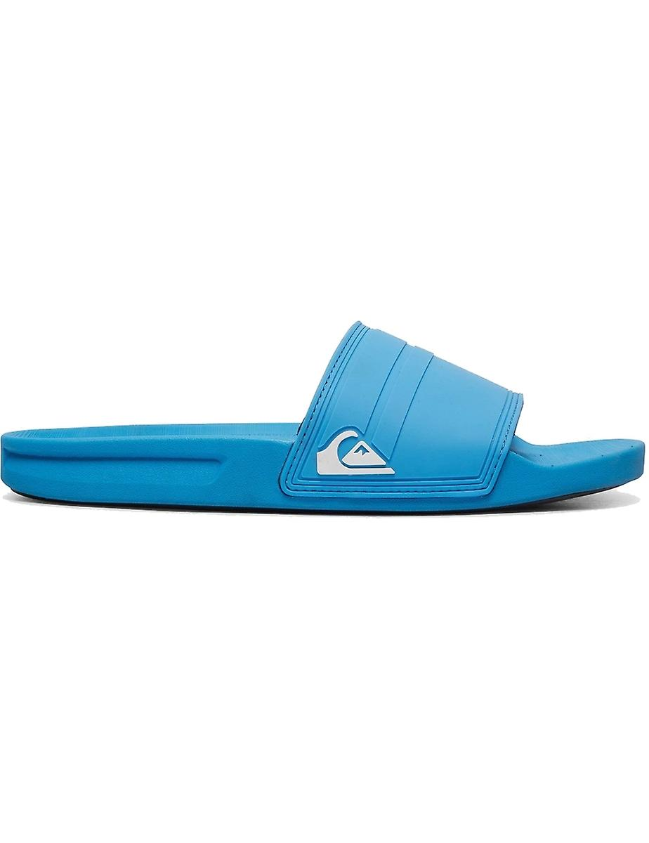 Quiksilver Rivi Sliders in Blue/White/Blue xGy57f