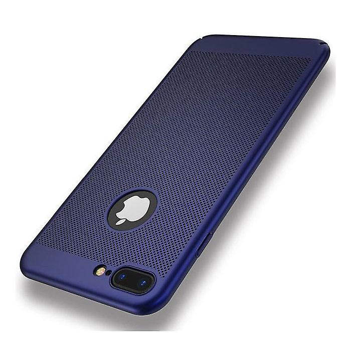 Stuff Certified® iPhone 8 Plus - Ultra Slim Case Heat Dissipation Cover Cas Case Blue