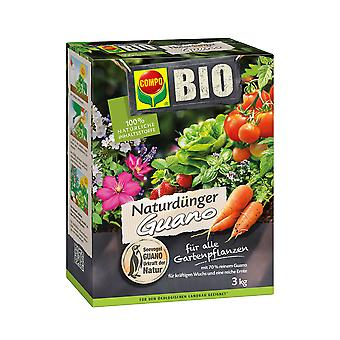 COMPO BIO Natural Fertilizer Guano, 3 kg