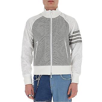 Thom Browne Mjt214a03193055 Men's Grey Nylon Sweatshirt