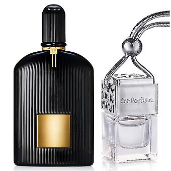 Tom Ford Black Orchid For Him Inspired Fragrance 8ml Chrome Lid Bottle Hanging Car Vehicle Auto Air Freshener