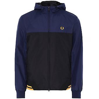 Fred Perry Colour Block Hooded Brentham Jacket J8526 266