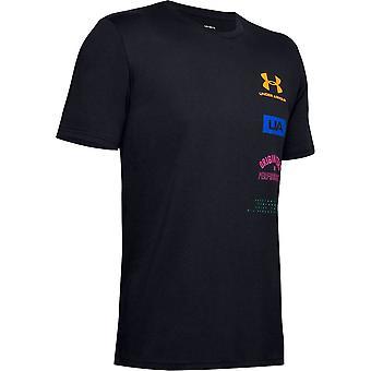 アンダーアーマーオリジネーターバック1351628001ユニバーサルサマーメンTシャツ