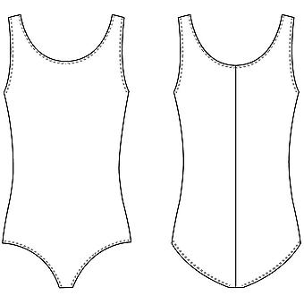 Bloch Dance Girls Dynamic Microlux Tank Leotard, Almond, 4-6, Almond, Size 4-6