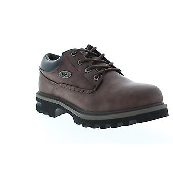 Lugz Empire LO WR  Mens Brown Leather Casual Dress Boots Shoes