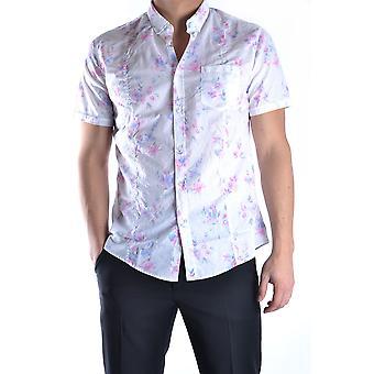 Daniele Alessandrini Ezbc107223 Männer's Multicolor Baumwollshirt