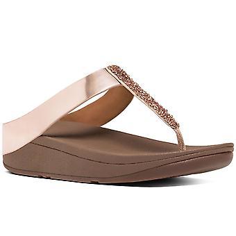 FitFlop™ Fino Womens Toe Post Sandals