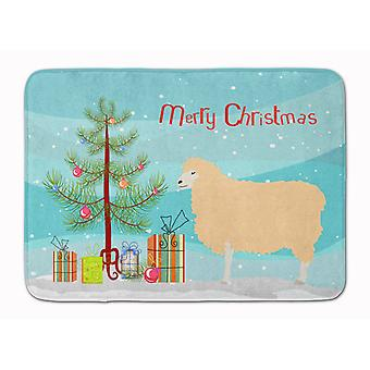 English Leicester Longwool Sheep Christmas Machine Washable Memory Foam Mat