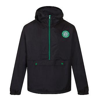 Celtic FC Official Football Gift Boys Half Zip Kurtka prysznicowa Wiatrówka