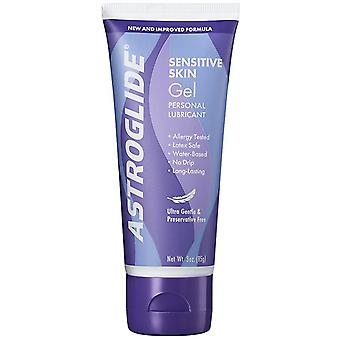 Astroglide sensitive skin ultra gentle gel lubricant, sensitive, 3 oz