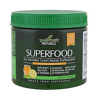 Puremark naturals superfood, honey lemon, 7 oz