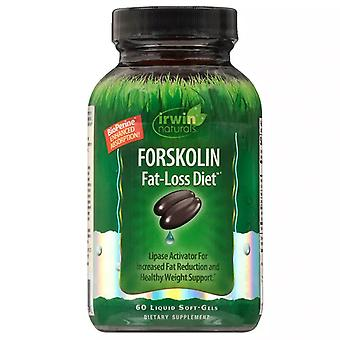 Irwin naturals forskolin fat-loss diet, liquid softgels, 60 ea
