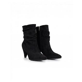 Xti Suedette Slouchy Ankle Boots