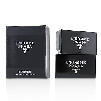 Prada L'Homme Perfumed Soap 2x100g/3.5oz
