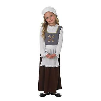 Tudor-Mädchen. Größe: klein