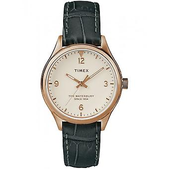 Zegarek Timex z Waterbury damskie 34 mm bransoletka TW2R69600