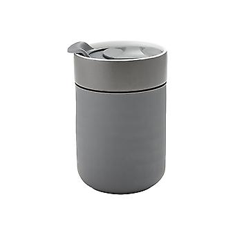 Ladelle Eco Brew Travel Mug, Charcoal