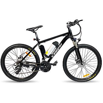"""Z6 21-Speed Ultimate Edition Electric Mountain Bike 26"""" - Black"""