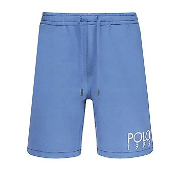 Ralph lauren men's blue jogger shorts