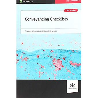 Conveyancing Checklists by Frances Silverman - 9781784460686 Book