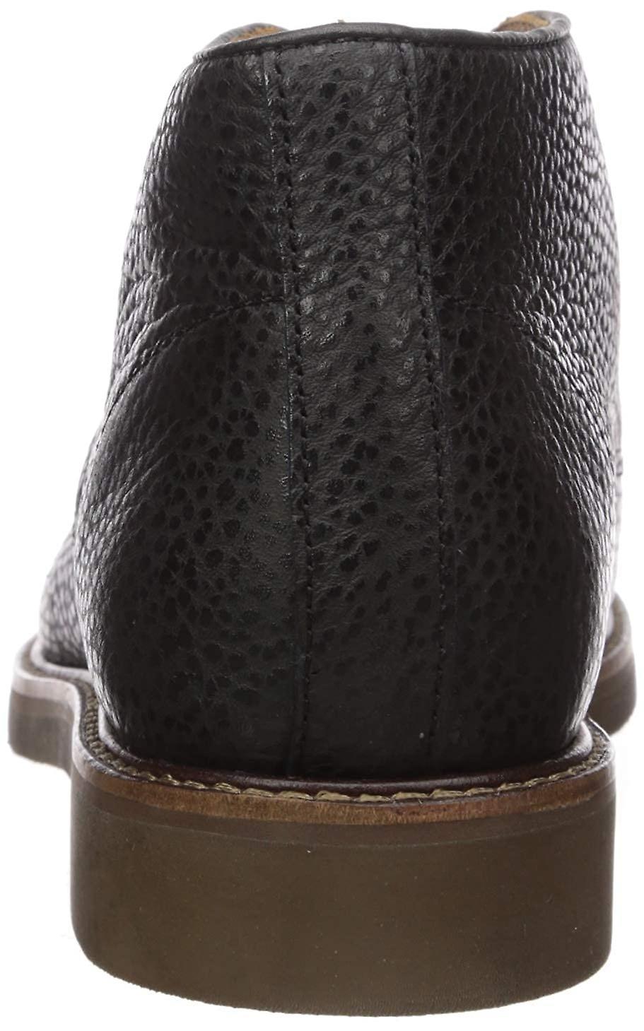 MARC JOSEPH NEW YORK Men-apos;s Cuir De luxe Lug Boot Ankle
