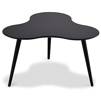 Ibbe Design Sky Coffee Table Black, 80x80x43 cm