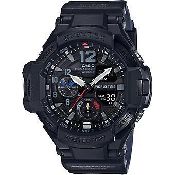 Ga1100-1A1, Casio Men'S G-Shock Master Of G Gravitymaster Black Watch