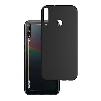 Hull For Huawei P40 Lite E Black Mat Soft 1.2 Mm Matt Case