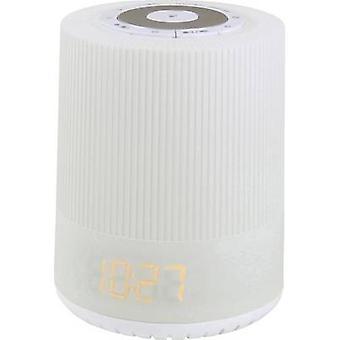 soundmaster UR230WE Radio alarm clock FM Mood lighting White