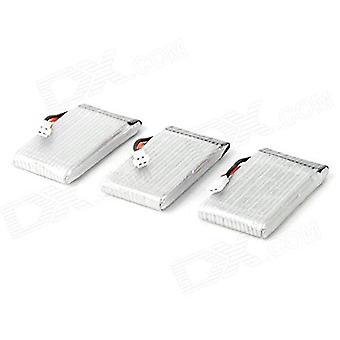 3 Battery pieces 3.7v, 850 mah lipo drones quadcopter syma x5sc x5sw
