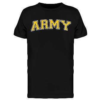 Lettering, Army Men's T-shirt