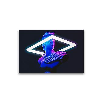 Neon Statue Plakat -Bilde av Shutterstock