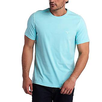 Barbour Men's Garment Dyed T-Shirt Tailored Fit Blue