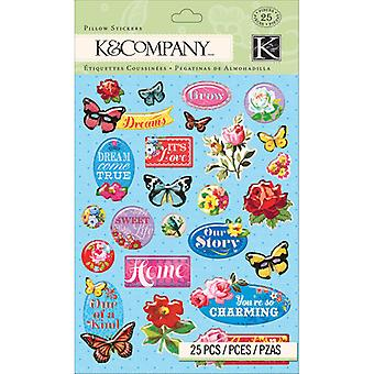 K&Company – 3D Pillow Stickers – Bloomscape
