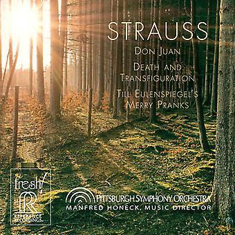 R. Strauss - Richard Strauss: Don Juan; Death and Transfiguration; Till Eulenspiegel's Merry Pranks [CD] USA import