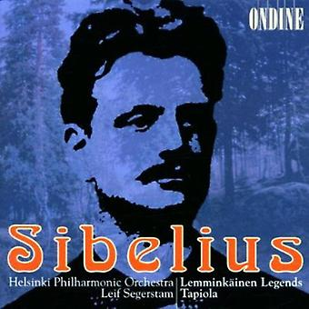 J. Sibelius - Jean Sibelius: Lemmink Inen Legends; Tapiola [CD] USA import