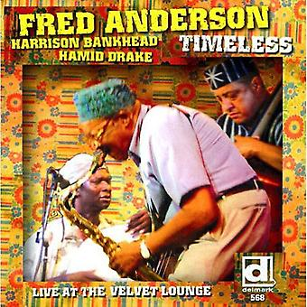 Fred Anderson - Timeless: Live at the Velvet Lounge [CD] USA import