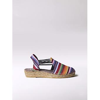 Toni Pons comfortable espadrille wtih colored stripes - NORMA