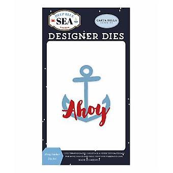 Carta Bella Ahoy Anchor Cutting Dies