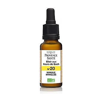 ORGANIC Mimule 20 ml of floral elixir
