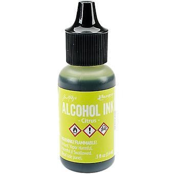 Tim Holtz Alcohol inkt .5oz-Citrus