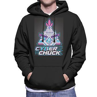 Angry Birds Cyber Chuck Men's Hooded Sweatshirt
