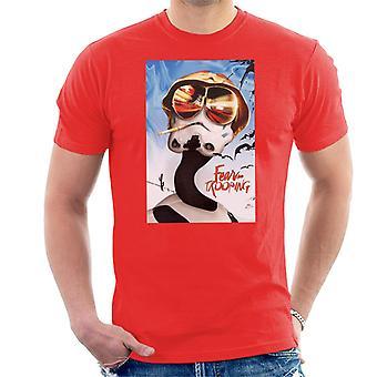 Alkuperäinen Stormtrooper pelko ja trooping Las Vegasissa miesten ' s T-paita