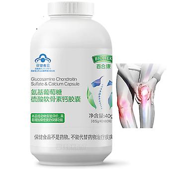 Joint Health Glucosamine - Chondroitin Sulfate Calcium Capsules Supplement For Joint Ease