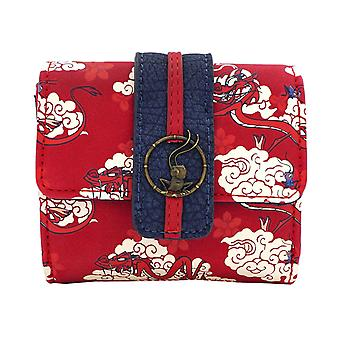 Mulan Purse Mushu Cloud print new Official Loungefly Disney Red