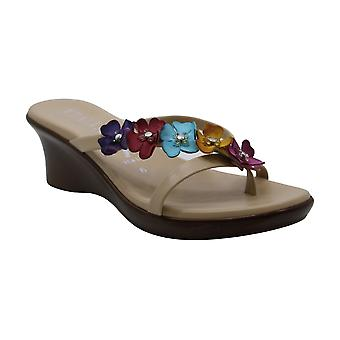 ITALIAN Shoemakers Women's Opal Sandal, Bright Multi, 6 M US