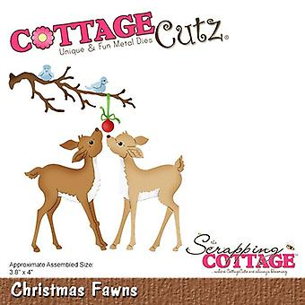 Sloop Cottage Christmas Fawns