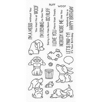 Mis cosas favoritas Woof Pack Clear Stamps